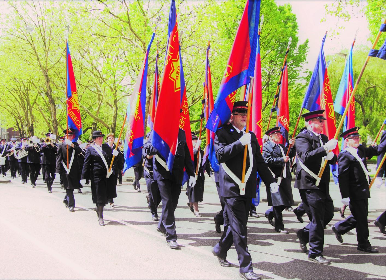 sylvie laroche armee du salut: les couleurs du drapeau de l'armee du salut